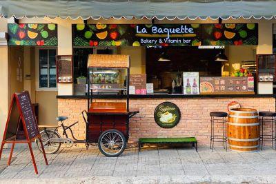 la boulangerie La Baguette