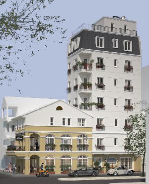 [image] The Lighthouse B&B on Ninh Kieu Pier