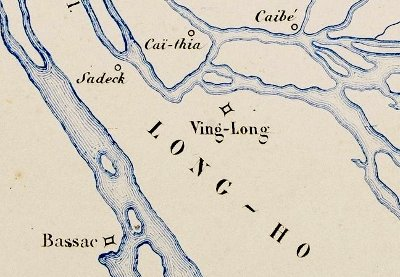 1858 expedition: Was Cần Thơ named Bassac?