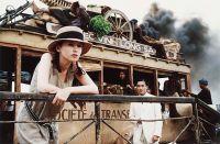 """Phà Mỹ Thuận, cảnh trích trong phim """"Người tình"""" (Jean-Jacques Annaud, 1991)"""