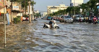 Flood in Cần Thơ in 2019